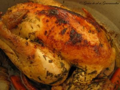 Poulet rôti-confit