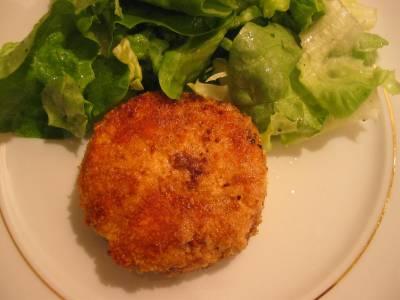 Chèvre Chaud et Salade Verte