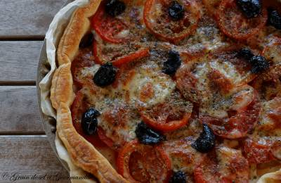 Tarte Tomate-Mozzarella : Simple mais bon !