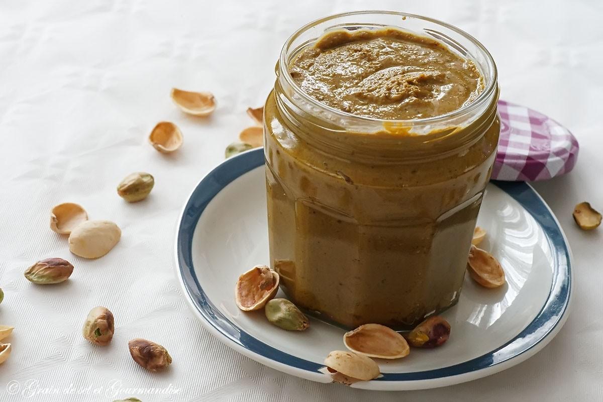 Faire sa pâte de pistaches