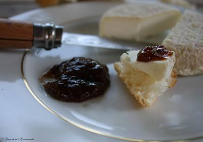 Chutney de Tomates au Vinaigre Balsamique et au Thym