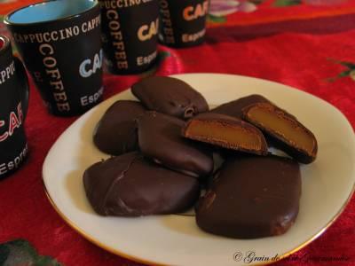 Caramels mous au chocolat