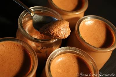 Mousse Au Chocolat Et Caramel Beurre Salé