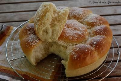 Brioche ultra moelleuse sans beurre et sans oeuf (recette de Christophe Michalak)