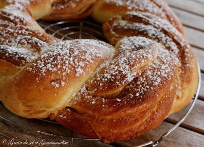 Kringle Estonien Cannelle-Coco