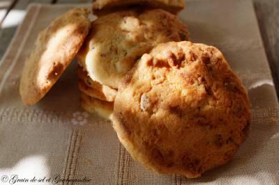 Cookies au Chocolat Blanc et Noix de Pécan