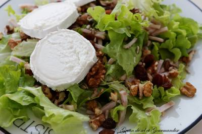 Salade au fromage de chèvre